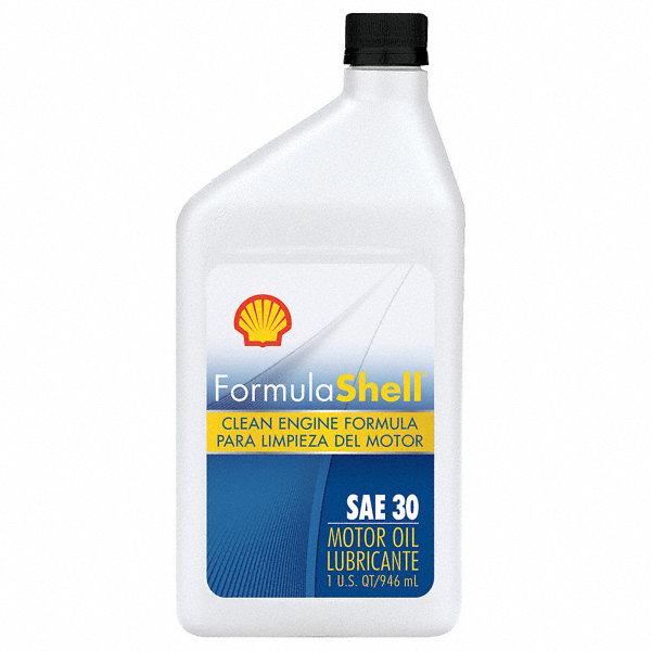 Formula shell motor oil 1 qt sae 30w conventional for Formula shell motor oil