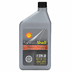 Formula shell motor oil 1 qt 10w 30 synthetic 33gp36 for What is synthetic motor oil made out of