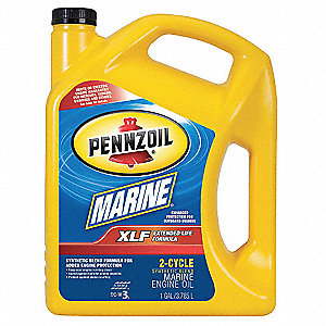 Marine 2-Cycle Oil,1 gal.,30W,XLF Syn