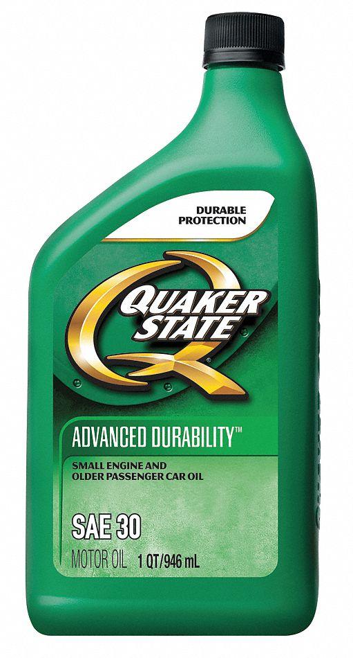 Conventional,  Engine Oil,  1 qt,  30,  For Use With Automotive Engines