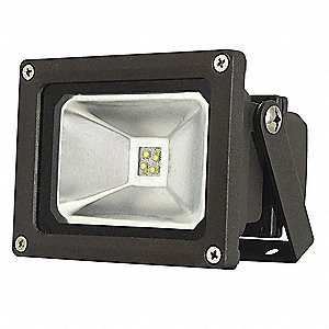 950 Lumens LED Floodlight, Bronze, LED Replacement For 75W INC/18W-20W CFL