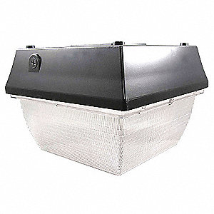 "12-1/4"" x 12-1/4"" x 9"" Parking Canopy Light with 2533 Lumens"