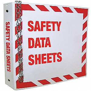 Safety Data Sheets Binder, English