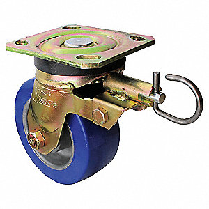 "8"" Medium-Duty Swivel Plate Caster, 1200 lb. Load Rating"