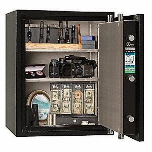 3.9 cu. ft. Gun Safe, 315 lb. Net Weight, 90 min. Fire Rating, Electronic Lock Style