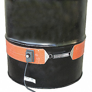 30GAL SILICONE BAND DRUM HEATER