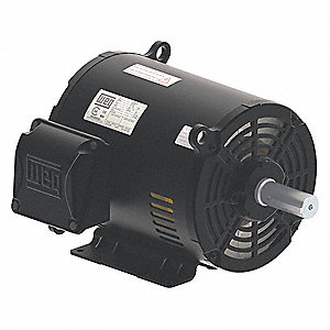 15 HP General Purpose Motor,3-Phase,1775 Nameplate RPM,Voltage 230/460,Frame 254/6T
