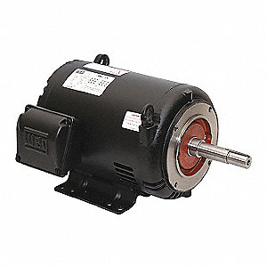 5 HP Close-Coupled Pump Motor,3-Phase,3510 Nameplate RPM,575 Voltage,182/4JM
