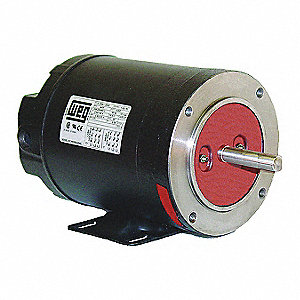 1 HP General Purpose Motor,3-Phase,1760 Nameplate RPM,Voltage 575,Frame 143/5TC
