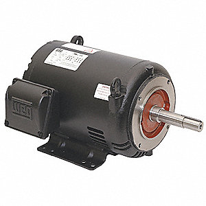 25 HP Close-Coupled Pump Motor,3-Phase,3530 Nameplate RPM,208-230/460 Voltage,254/6JP