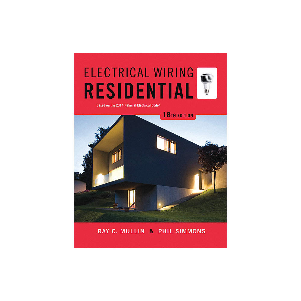 delmar learning ref book electrical wiring residential 33hv83 rh grainger com Residential Electrical Wiring Codes Residential Wiring For Dummies