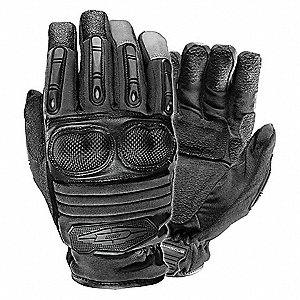 Extrication Gloves,L,Black,PR