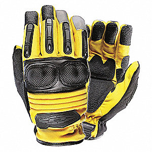 Extrication Gloves,2XL,Yellow,PR