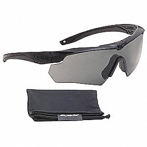 Crossbow® Scratch-Resistant Ballistic Safety Glasses, Gray Lens Color