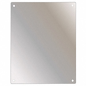 Safety Mirror,Shatterproof,18x36 in.,SS