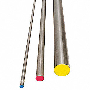 Air Hard Drill Rod,A2,1/4,0.25 In