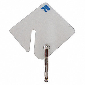 Key Tag Numbered 11 to 30,PK20