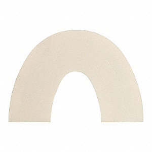 "Perforated Hood Flap,1 ""H,PK10"