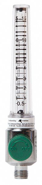 Ohmeda Quick Connect Flow Meter, Up to 15Lpm Flow Range