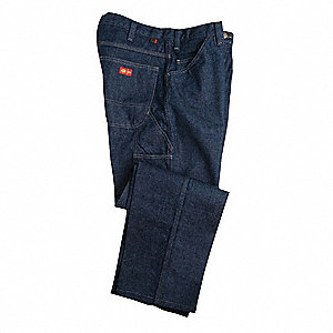 "Denim Pants, Amtex®, Fits Waist Size: 28"", 30"" Inseam, 20.0 cal./cm2 ATPV Rating"