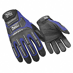 IMPACT GLOVES,BLUE,XXL