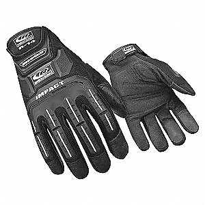 IMPACT GLOVES,BLACK,XXXL