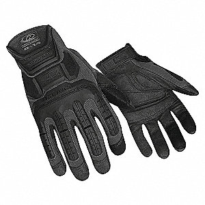 IMPACT GLOVES,STEALTH,S