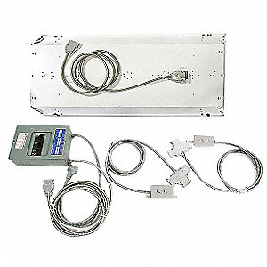 Modular Wiring Kit,16 ft. x 20 ft.,Gray