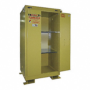"90 gal. Flammable Cabinet, 71"" x 43"" x 31"", Self-Closing Door Type"
