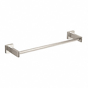 "24""L Satin Nickel Brass Towel Bar, CS Series Collection"