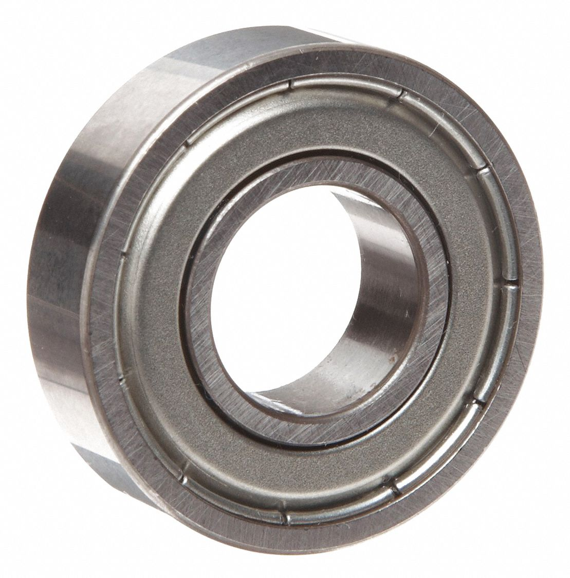 Radial Ball Bearing, Double Shielded, 0.625 in Bore Dia., 1.375 in Outside Dia.