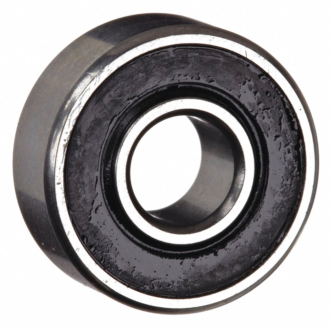 Radial Ball Bearing, Double Shielded, 0.1875 in Bore Dia., 0.5 in Outside Dia.