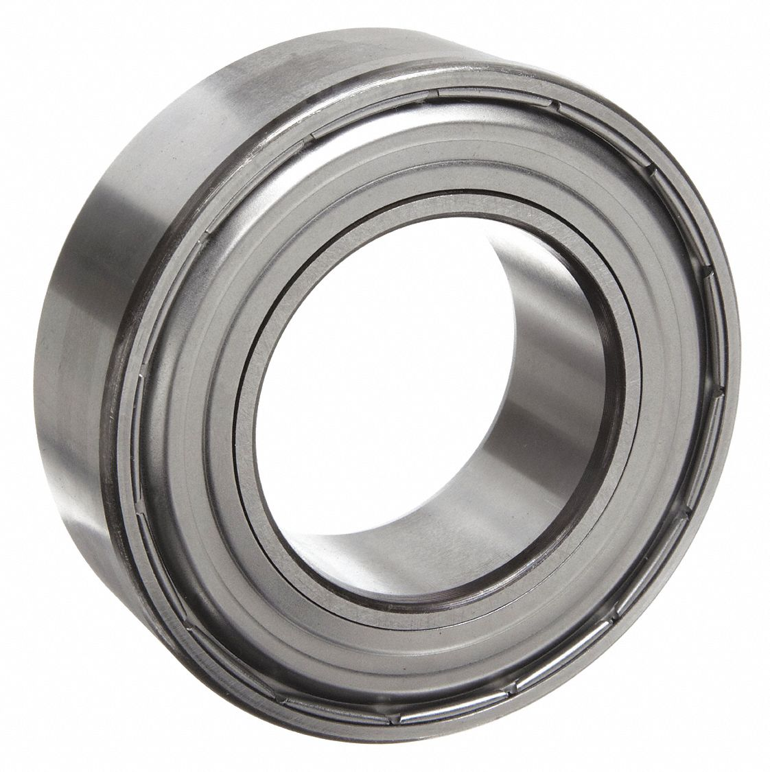 Radial Ball Bearing, Double Shielded, 6 mm Bore Dia., 19 mm Outside Dia.