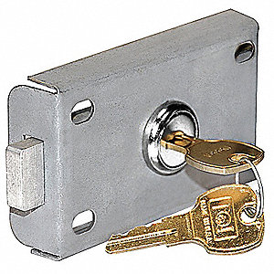 Master Commercial Lock for Aluminum Mailbox; Includes: (2) Keys