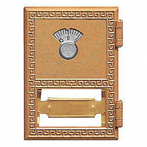 Replacement Combination Lock for Brass Mailbox Size 1; Includes: Combination Lock