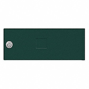 Replacement Door and Lock for Cluster Box Unit Size B; Includes: (3) Keys