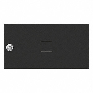 Replacement Door/Lock,MB2,Black