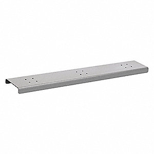 Roadside Mailbox Spreader; Features: Silver Powder Coated, (3) Wide for Mailbox Mounting