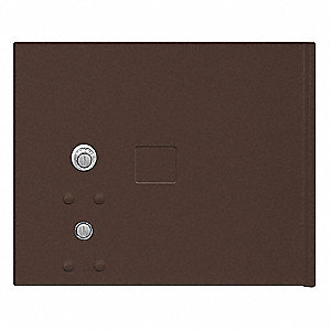 Replacement Door/Lock,CBU,Small,Bronze