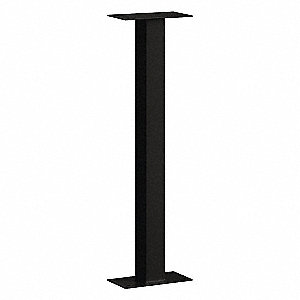 MAIL HOUSE POST,BLACK,42 IN.