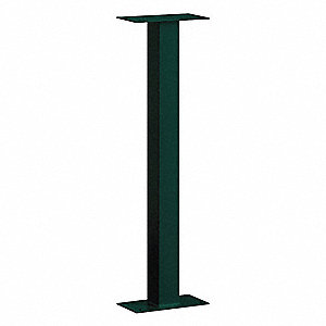 Mail House Post,Green,42 in.