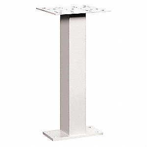 Pedestal Drop Box,White,28-1/2 in.