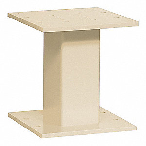 Replacement Pedestal,Sandstone,13 in. H