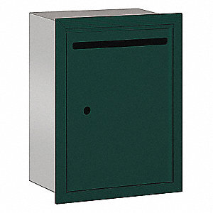 Letter Box,Standard,Recessed,Green