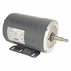 3/4 HP Milk Pump Motor,Permanent Split Capacitor,3450 Nameplate RPM,208-230 Voltage,Frame 56HCZ