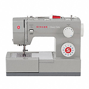 Sewing Machine, White Plastic, Number of Stitch Patterns 23, 1100 Stitches Per Minute