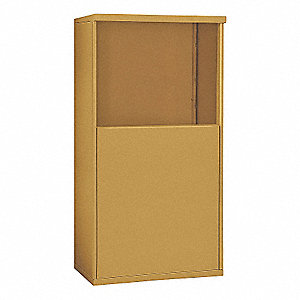 Free-Standing Enclosure,DC 6 Door,Gold