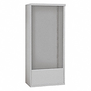 Free-Standing Enclosure,DC 16 Door,Gray