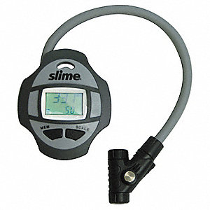 Digital Tire Gauge,0 to 160 PSI,w/Hose