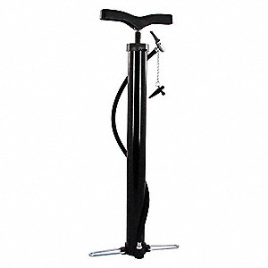 Hand Floor Bicycle Pump,21 In.